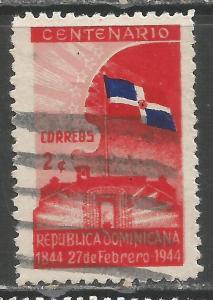 DOMINICAN REPUBLIC 400 VFU FLAG Z2605-5