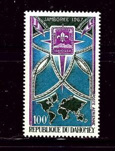 Dahomey C59 MNH 1967 Boy Scout Jamboree