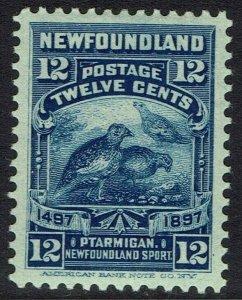 NEWFOUNDLAND 1897 400TH ANNIVERSARY 12C