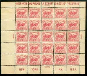 EDW1949SELL : USA 1926 Scott #630 Fresh & VF, Mint S/S hinged only in top margin