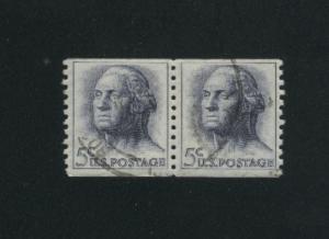 USA #1229  2  used 1962-1966 PD .12