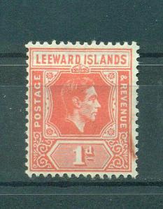 Leeward Islands sc# 105 used cat value $9.00