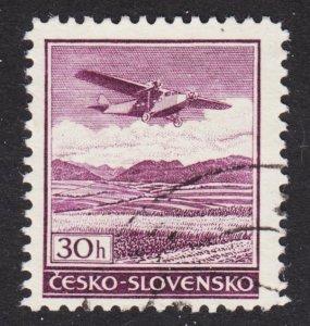 Czechoslovakia Scott C18 F+ used.