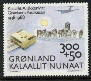 Greenland B13 MNH Aircraft, Post Office, Dog Sled