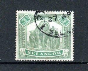 Malaysia - Selangor 1895-99 $1 FU CDS
