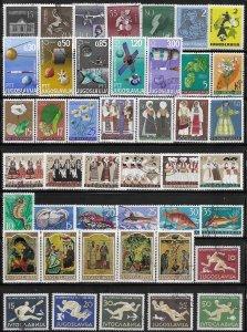 Yugoslavia mini collection 87 CTO stamps  SCV $?? - 12989
