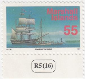 Marshall Islands, Sc # 457, MNH, 1993-95, Ship