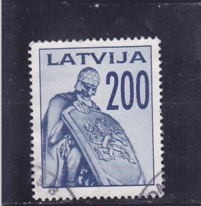 Latvia  Scott#  326  Used