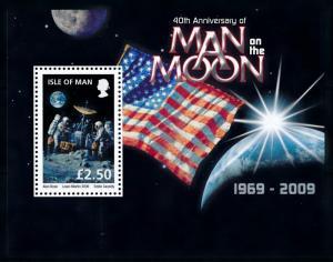 [72899] Isle of Man 2009 Space Travel Weltraum Souvenir Sheet MNH