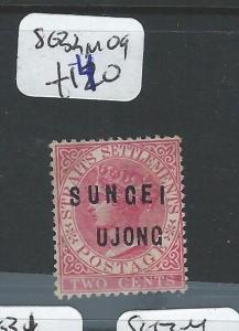 MALAYA SUNGEI UJONG (P0510B) QV 2C  SG 32  MOG