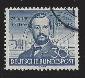 Germany Bund Scott # 688, used