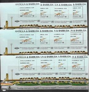 Barbuda 747 MNH  x 12, vf. see desc. 2020 CV$102.00