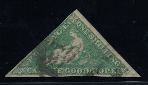 Cape of Good Hope, Sc 15 (SG 21), used, large to ample margins