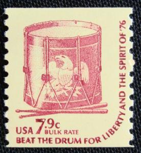 US #1615 MNH SG Coil Single, Drum, SCV $.20 L3