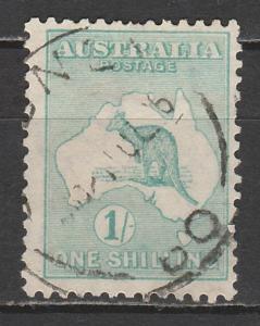 AUSTRALIA 1915 KANGAROO 1/- 2ND WMK USED