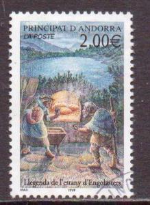 Andorra (Fr.)   #553  used  (2002)  c.v. $2.00