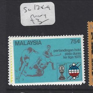 MALAYSIA (P3008B)  SG  128-9  MOG