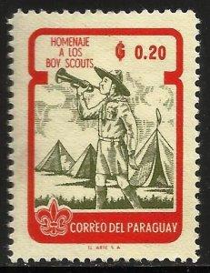 Paraguay 1962 Scott# 639 MH