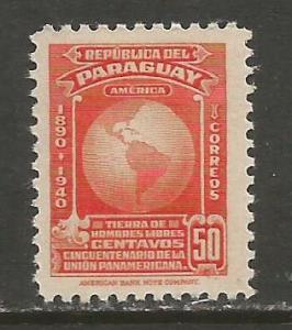 PARAGUAY 374 MOG R349-3