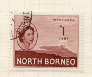 North Borneo 1954 Early Issue Fine Used 1c. 281313