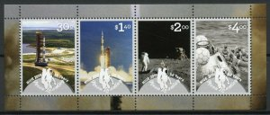 Niue 2019 MNH Apollo 11 Moon Landing 50th Anniv 4v M/S Space Stamps