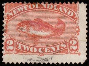 Newfoundland Scott 48 (1887) Used F, CV $9.50 C