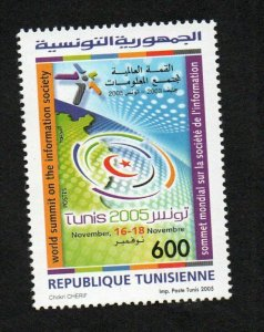 2005- Tunisia - World Summit on the Information Society November , 2005- MNH**