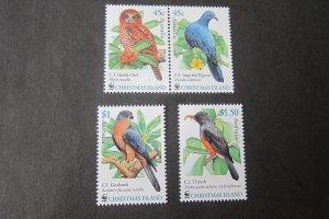 Christmas Islands Sc 437-439 Birds Set MNH