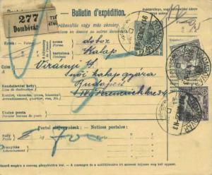 Hungary 15f+2f Soldier Fighting Semi-Postal and 80f Turul and Crown on 10f Cr...