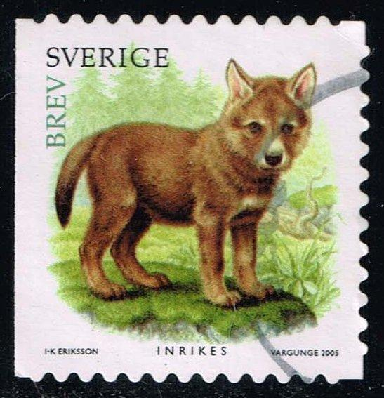 Sweden #2518c Wolf Pup; Used (1.60)
