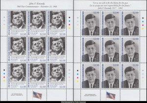Aitutaki Scott 615-616 Mint never hinged.