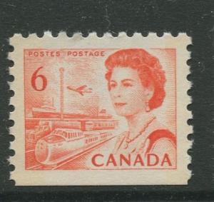 Canada  #459  MNH  1967 Single 6c Stamp
