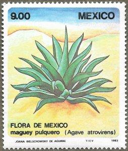 Mexico #1325 9p Agave Atrovirens MNH (1983)