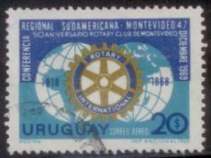 Uruguay 1969 SC# C354 Used L394