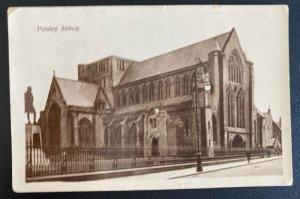 1923 Paisley England RPPC Postcard Cover To Winnipeg Canada Postage Due