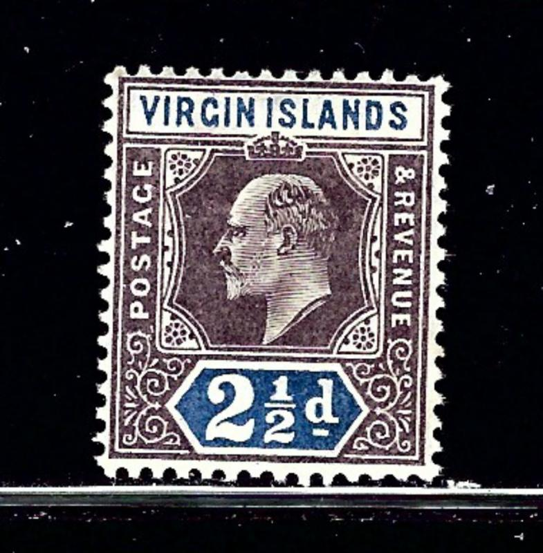 Virgin Is 32 MH 1904 issue