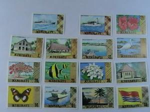 KIRIBATI # 327a-340c-MINT/NEVER HINGED-COMPLETE SET---QEII-1980-81