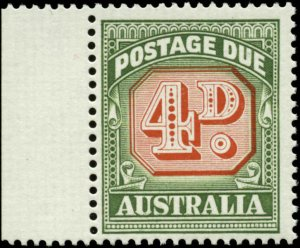 Australia Scott #J89a with Margin Tab Mint Never Hinged  Type II
