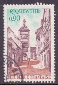 France SG1931 - YT 1685, 1971 Tourism 90c used