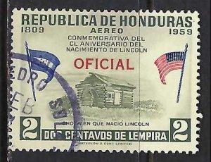 Honduras CO99 VFU Z8092-2