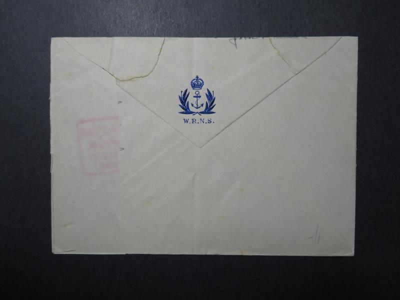 Ireland WWII Forces Cover / Galic Censor / Maritime Mail/ Navy Censor - Z12276
