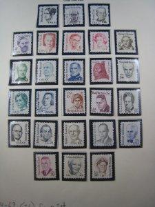 UNITED STATES 1980-85 - SCOTT # 1844-1869  MNH