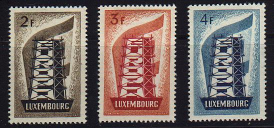 Luxembourg  #318-20 Mint VF -  Lakeshore Philatelics