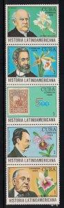 CUBA Scott # 3360a-3375a   1991 Latin America History  mnh SCV $ 7.00