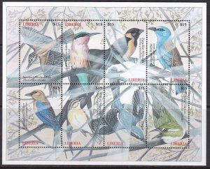 Liberia, Fauna, Birds / MNH / 2000