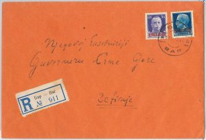 53776 - ITALIA OCCUPAZIONI: MONTENEGRO - Storia Postale: BUSTA da Stari Bar 1943