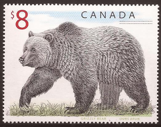 Canada - Scott# (010 - MNH single) 1694 (1997) VF Wildlif...