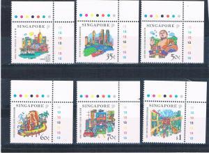Singapore 896-901 MNH set Tourism 1999 (S1137)
