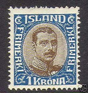 Iceland #126 VF Mint