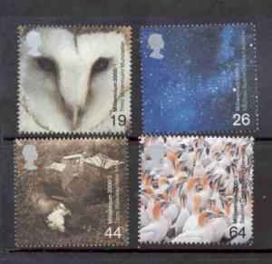 Great Britain Sc 1890-3 2000 Above & Beyond stamps mint NH
